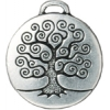 Charm Tree Of Life 22mm Antique Silver